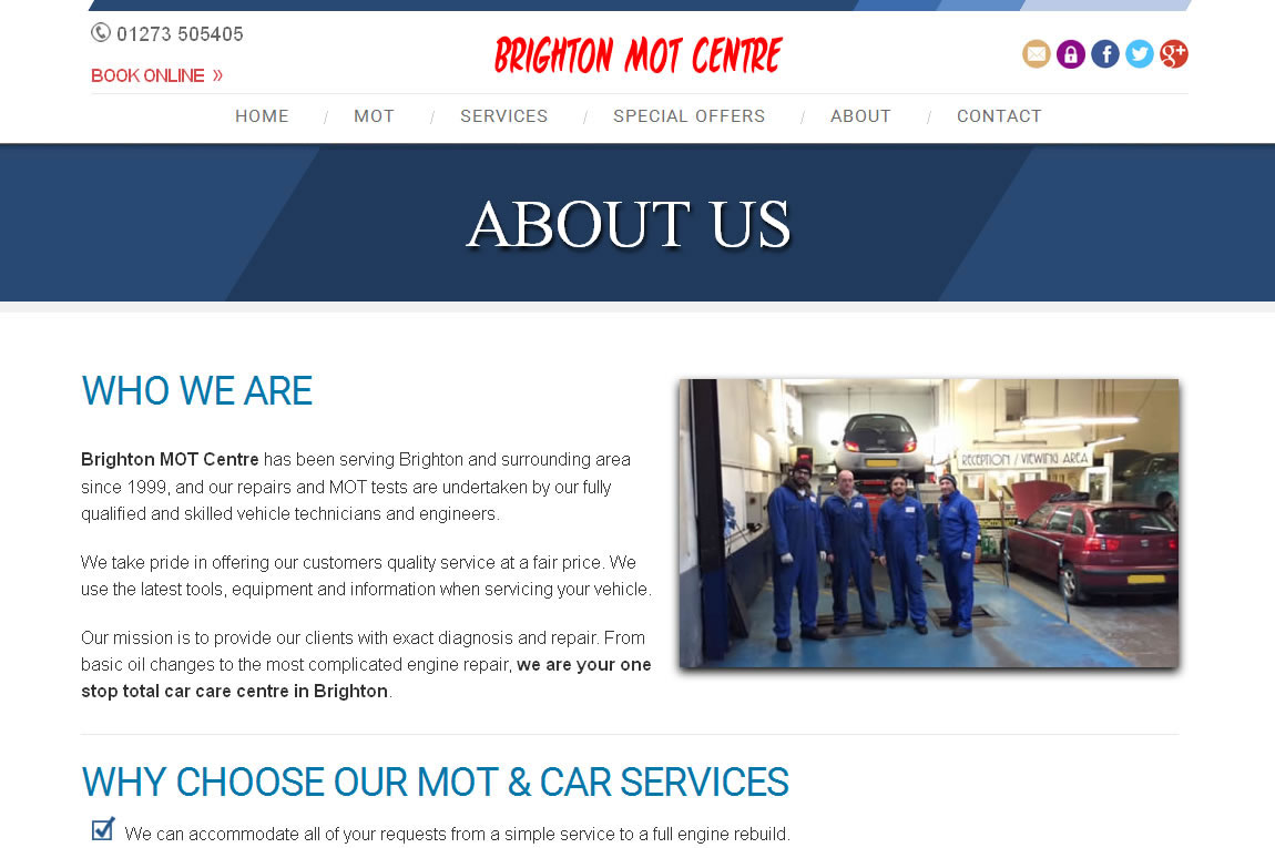 Brighton MOT Centre -