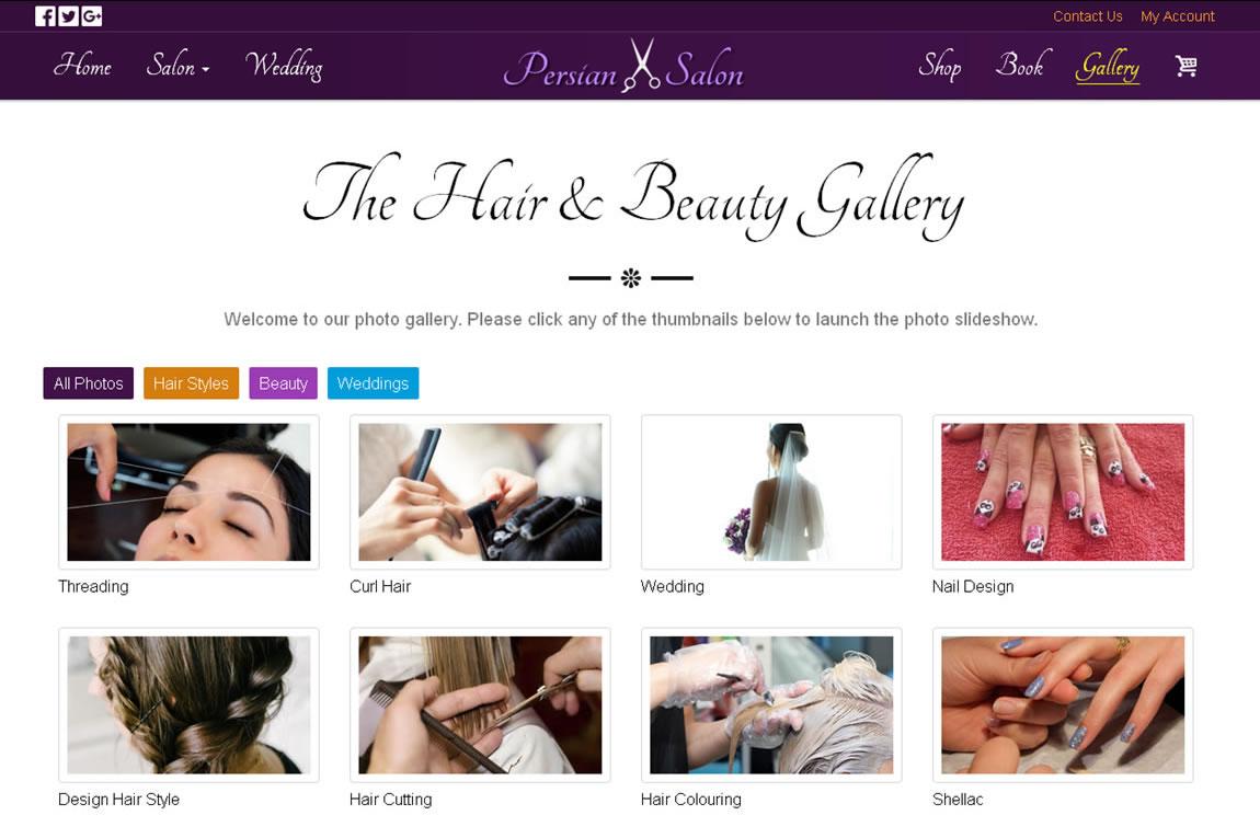 Hair & Beauty Salon -